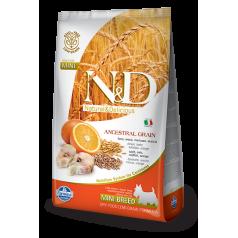 N&D Low Grain CODFISH & ORANGE ADULT MINI