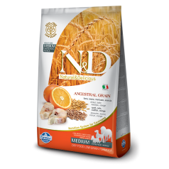 N&D Low Grain CODFISH & ORANGE ADULT MEDIUM