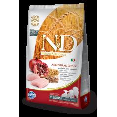 N&D Low Grain CHICKEN & POMEGRANATE PUPPY MEDIUM